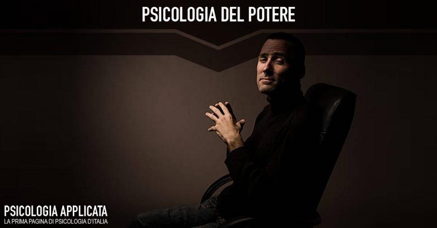psicologia del potere