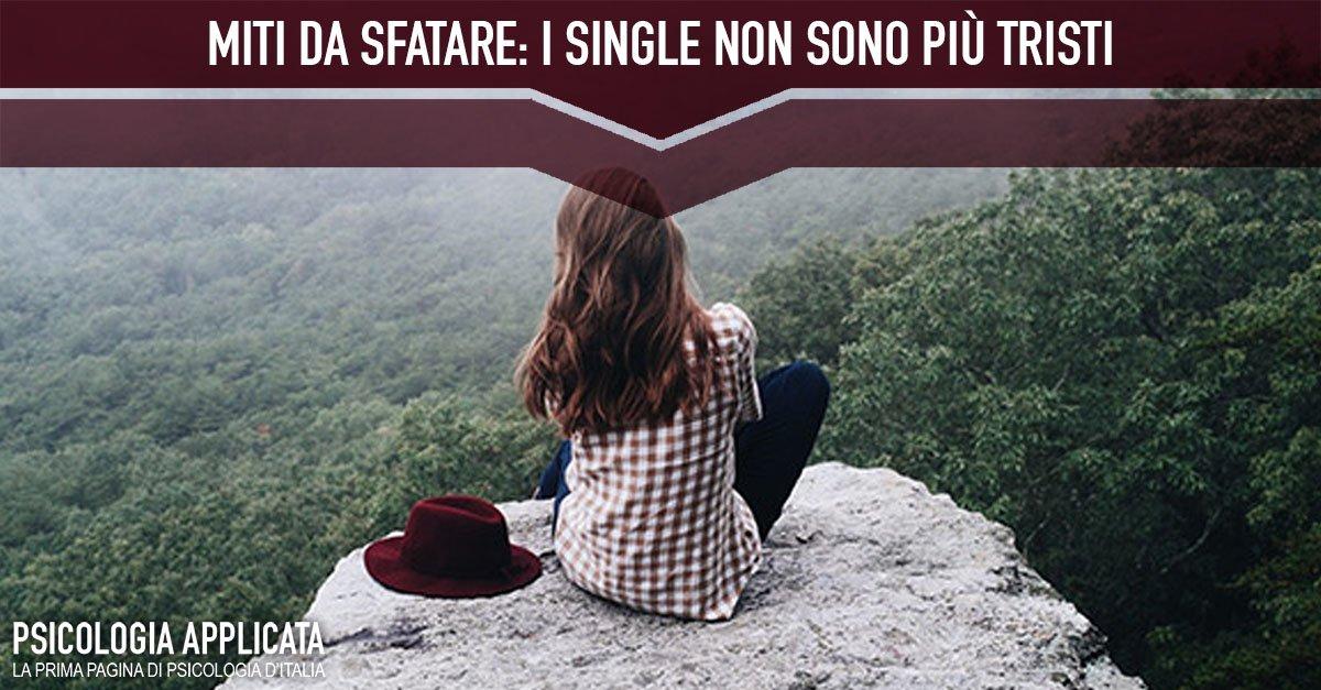 I single non sono più tristi