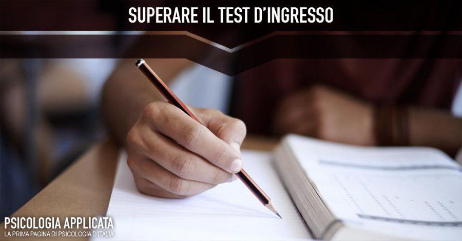 Superare il test d'ingresso
