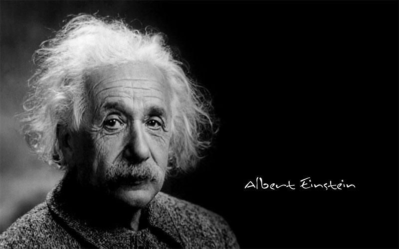 Albert Einstein Dislessico