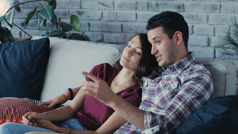 guardare un film romantico