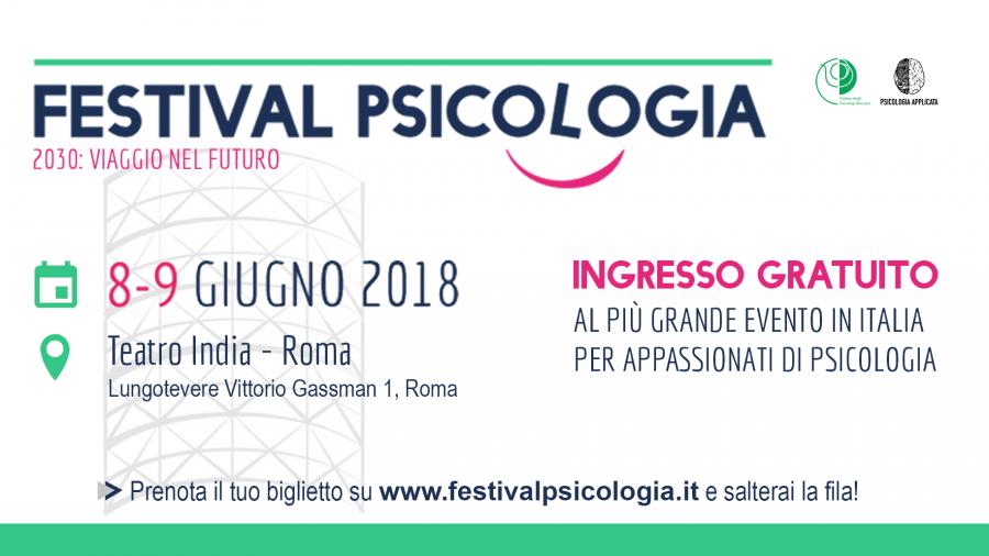 Logo Evento Festival Psicologia 2018 v1.3