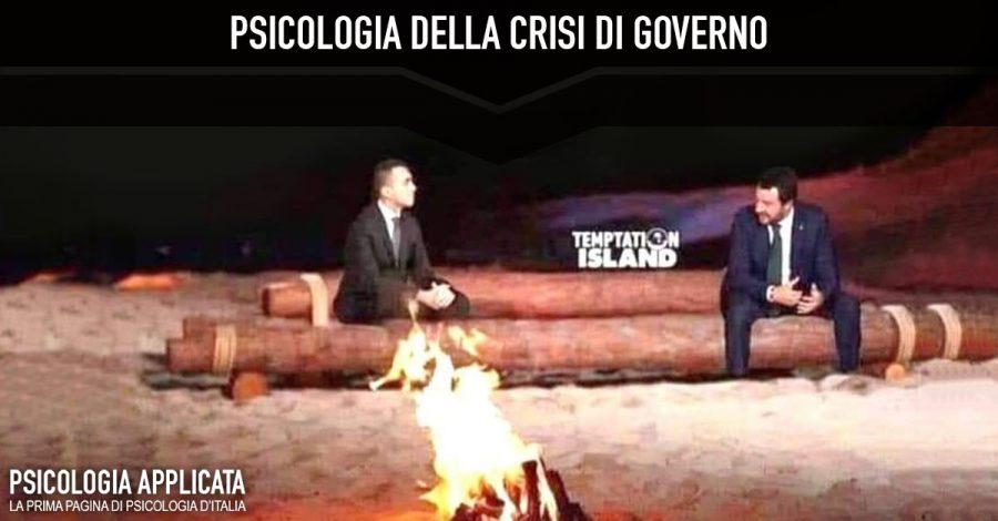 Psicologia della crisi di governo